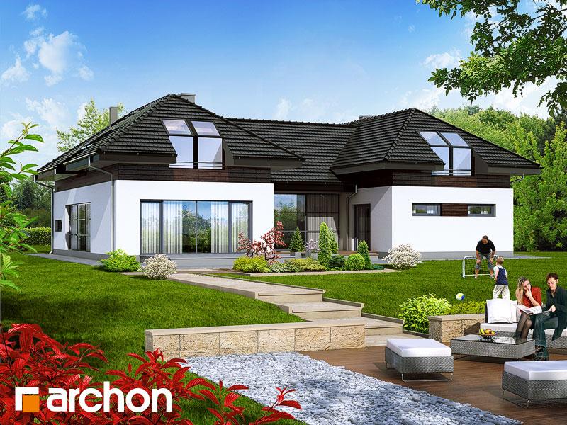 Проект будинку ARCHON+ Резиденція в нертерах Вид 1