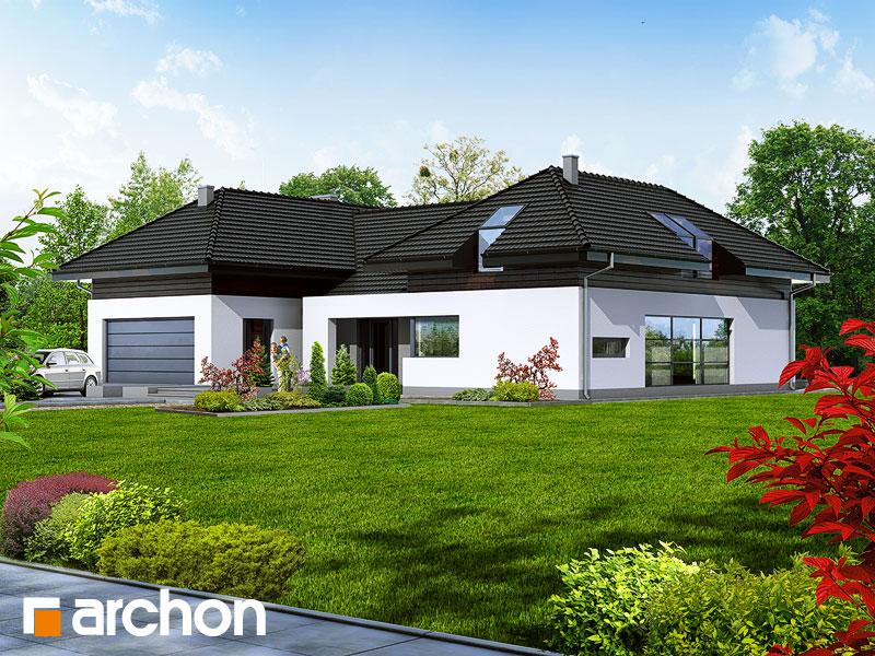 Проект будинку ARCHON+ Резиденція в нертерах Вид 2