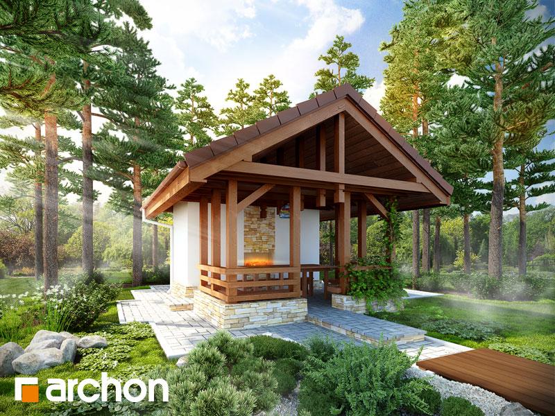 Проект будинку ARCHON+  Вид 1