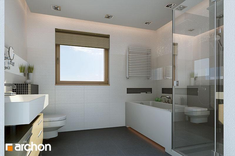 Проект дома ARCHON+ Вилла Юлия визуализация ванной (визуализация 3 вид 1)