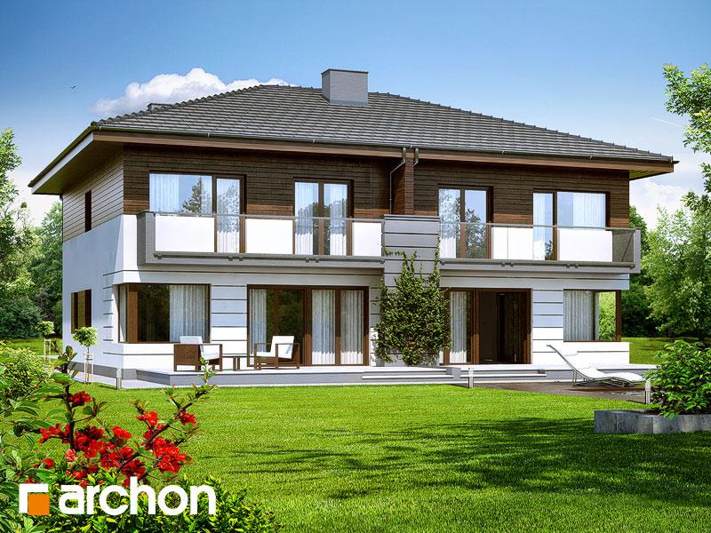 Проект будинку ARCHON+ Вілла Юлія Вид 2