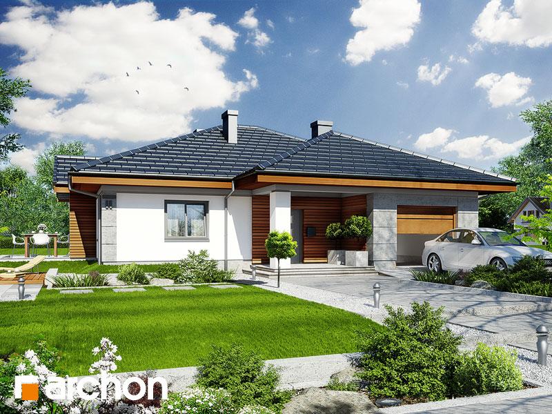 Проект дома ARCHON+ Дом в джонагольдах Вид 1