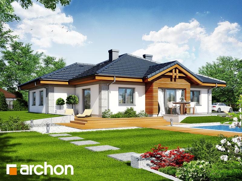 Проект дома ARCHON+ Дом в джонагольдах Вид 2