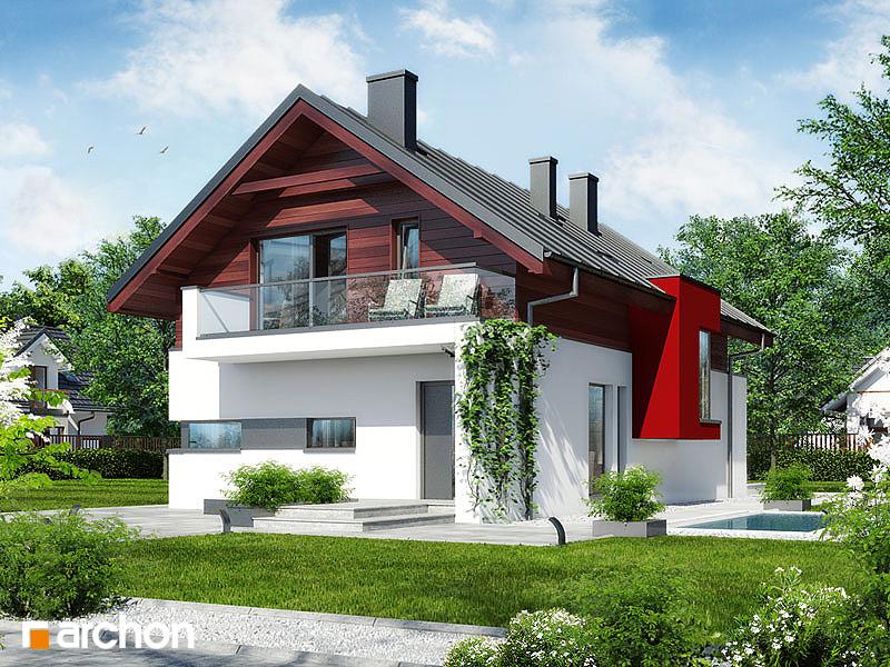 Проект будинку ARCHON+ Будинок в морінгах стилізація 5