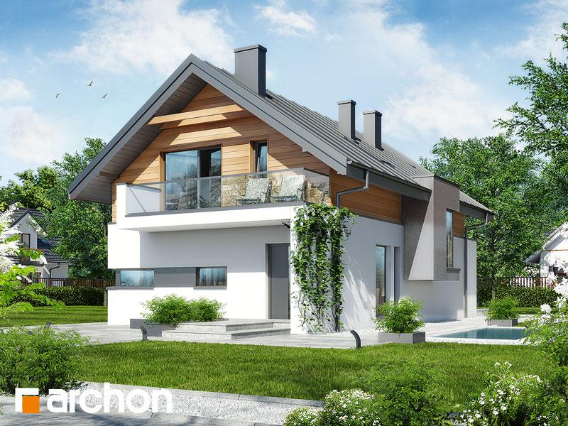 Проект будинку ARCHON+ Будинок в морінгах Вид 1