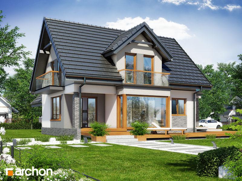 Проект будинку ARCHON+ Будинок в журавлині (Г) стилізація 4