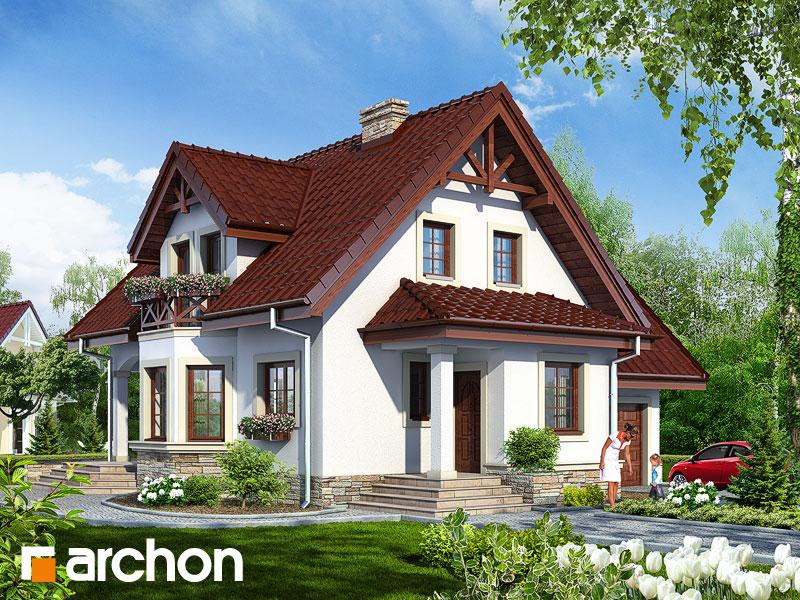 Проект будинку ARCHON+ Будинок в журавлині (Г) Вид 1