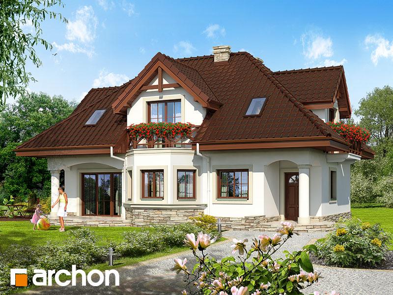 Проект будинку ARCHON+ Будинок в майорані (П) Вид 1