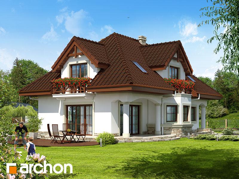 Проект будинку ARCHON+ Будинок в майорані (П) Вид 2