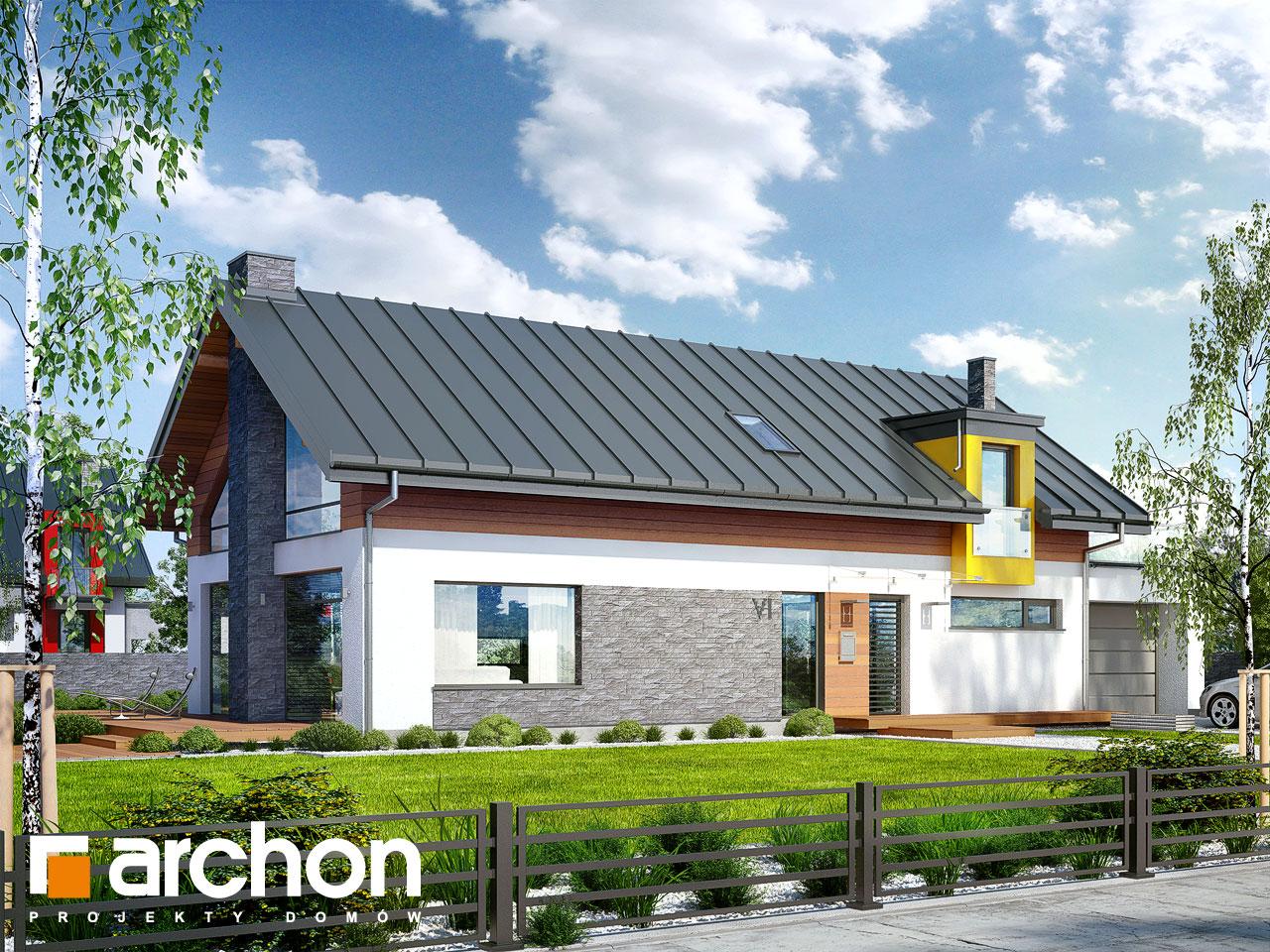 Проект будинку ARCHON+ Будинок в лаврах Вид 2