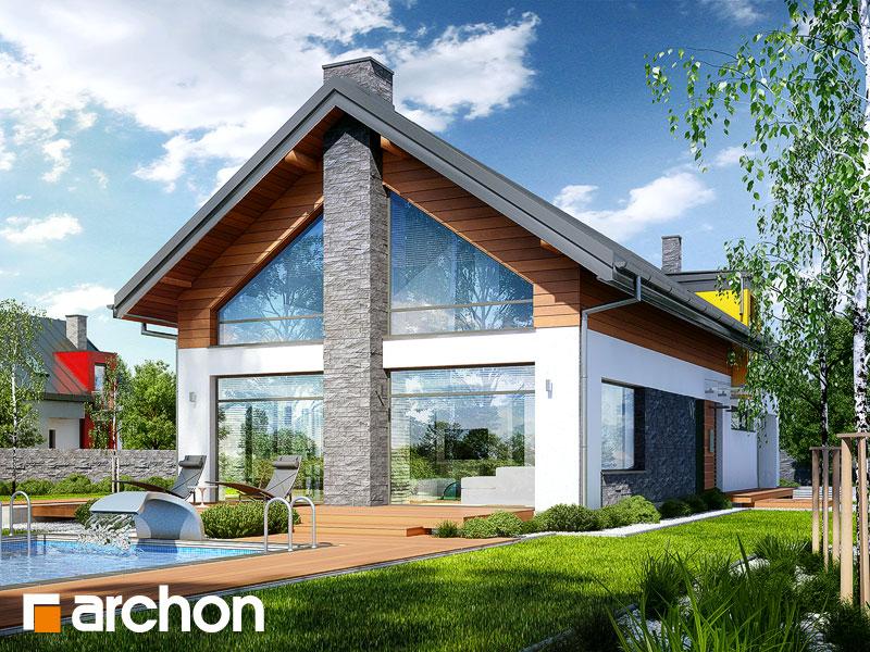 Проект будинку ARCHON+ Будинок в лаврах Вид 1