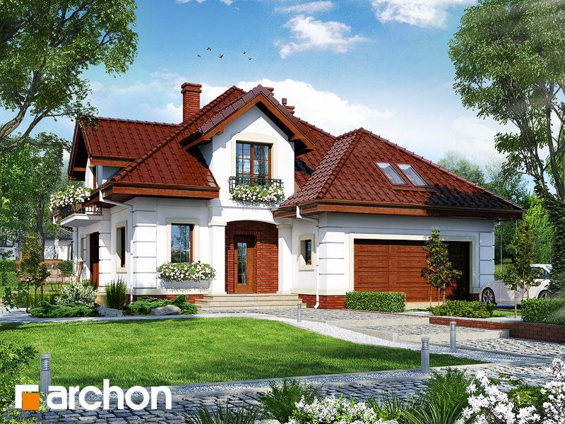 Проект будинку ARCHON+ Будинок в датурах Вид 1