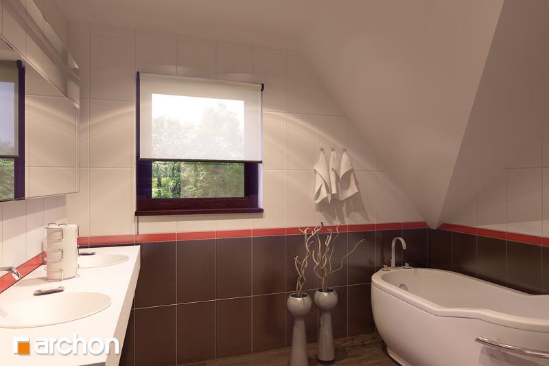 Проект будинку ARCHON+ Будинок в тамариску 2 (Н) візуалізація ванни (візуалізація 3 від 1)