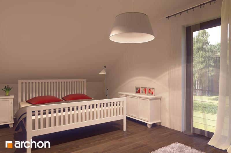 Проект будинку ARCHON+ Будинок в тамариску 2 (Н) нічна зона (візуалізація 1 від 1)