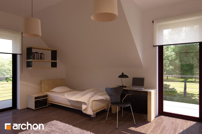 Проект будинку ARCHON+ Будинок в тамариску 2 (Н) нічна зона (візуалізація 1 від 2)