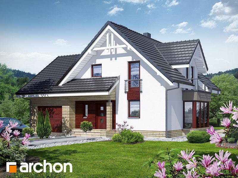 Проект будинку ARCHON+ Будинок в тамариску 2 (Н) Вид 1