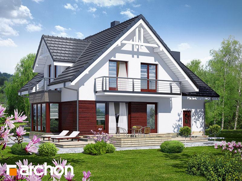 Проект будинку ARCHON+ Будинок в тамариску 2 (Н) Вид 2