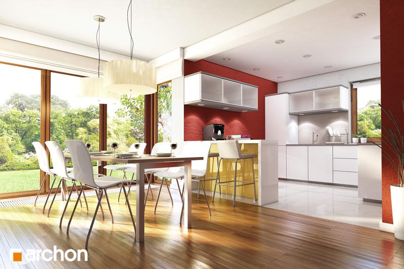 Проект будинку ARCHON+ Будинок в тамариску 2 (Н) денна зона (візуалізація 1 від 1)