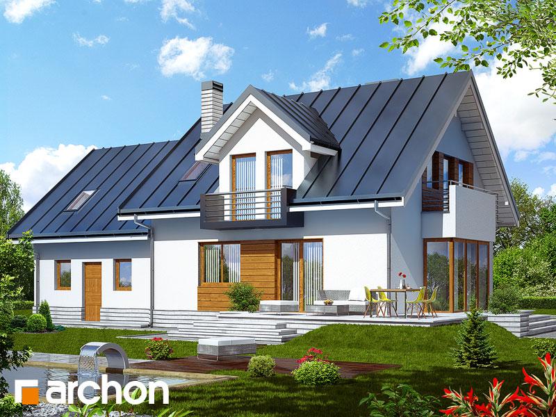 Проект будинку ARCHON+ Будинок в рододендронах 6 (Г2Н) Вид 2