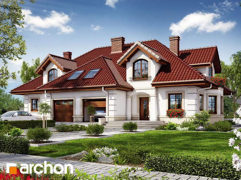 Проект будинку ARCHON+ Будинок в бергамотах (Р2) Вид 1