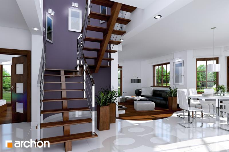 Проект будинку ARCHON+ Будинок в бергамотах (Р2) денна зона (візуалізація 1 від 1)