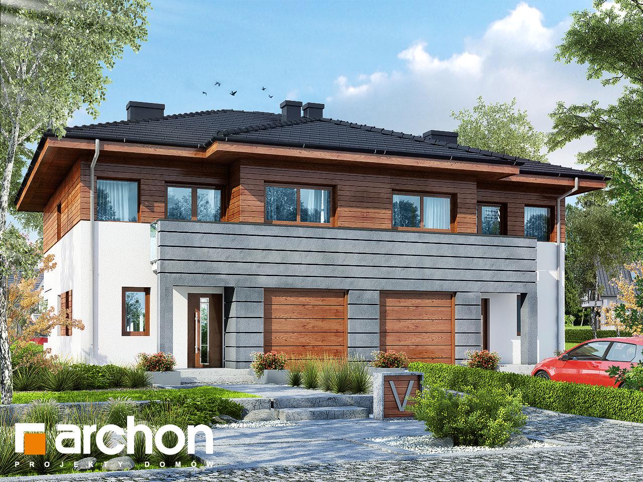 Проект будинку ARCHON+ Вілла Юлія (Б) вер.3 візуалізація усіх сегментів