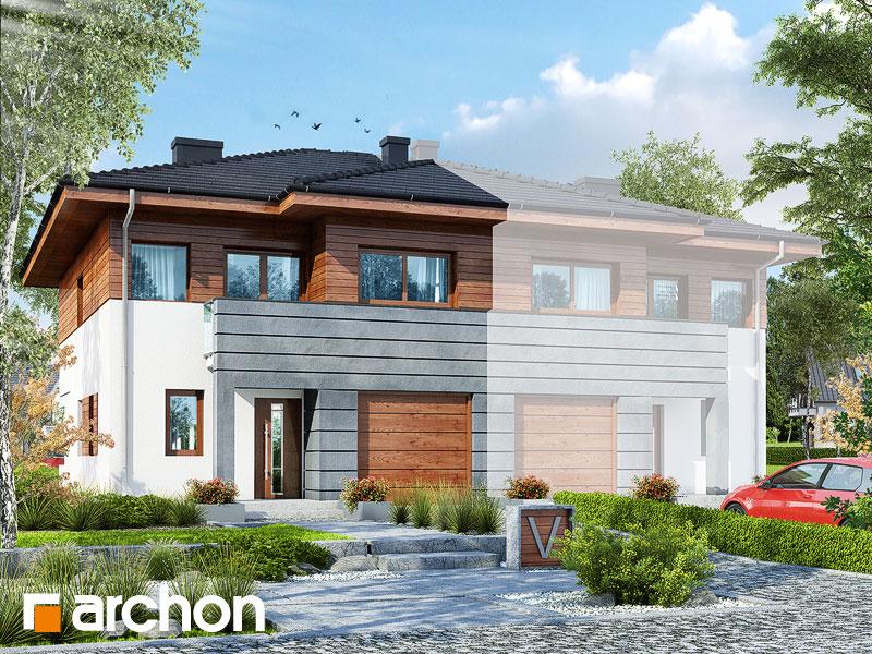 Проект будинку ARCHON+ Вілла Юлія (Б) вер.3 Вид 1