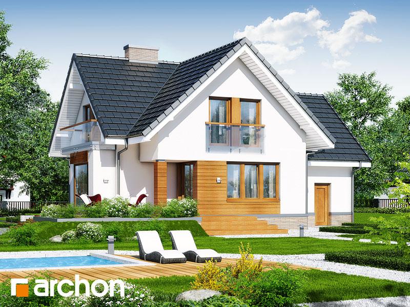 Проект будинку ARCHON+ Будинок під гірською сосною (П) стилізація 4