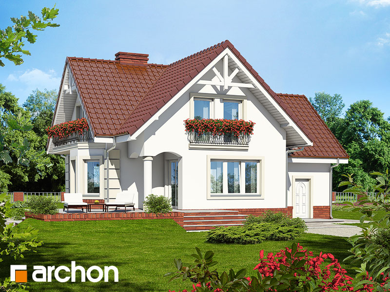 Проект будинку ARCHON+ Будинок під гірською сосною (П) Вид 2