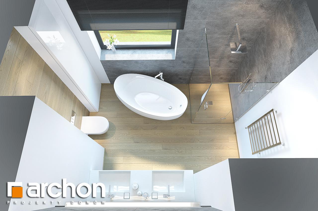 Проект будинку ARCHON+ Будинок під софорою візуалізація ванни (візуалізація 3 від 4)