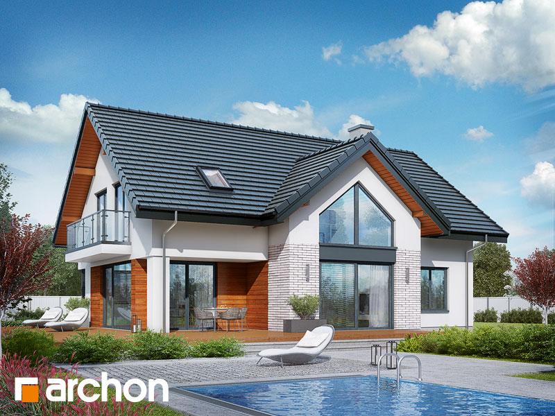 Проект будинку ARCHON+ Будинок під софорою Вид 1