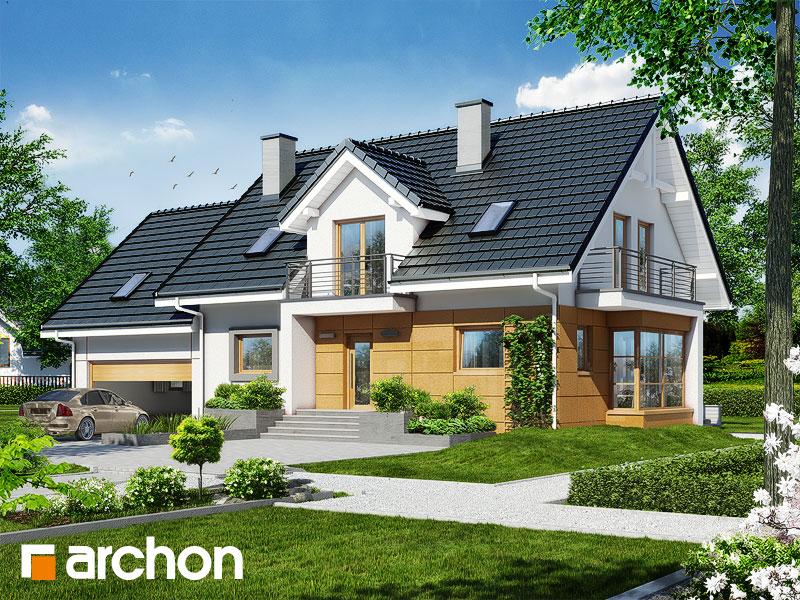 Проект будинку ARCHON+ Будинок в каллах (Г2) стилізація 3