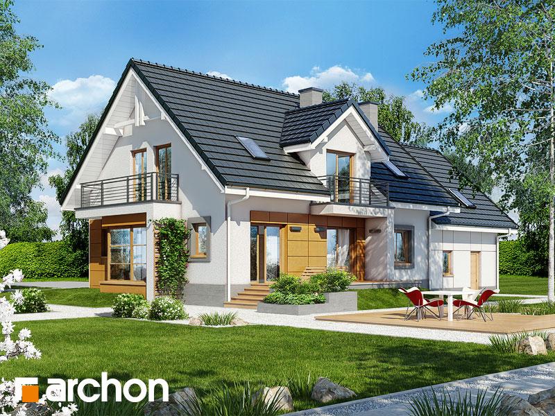Проект будинку ARCHON+ Будинок в каллах (Г2) стилізація 4