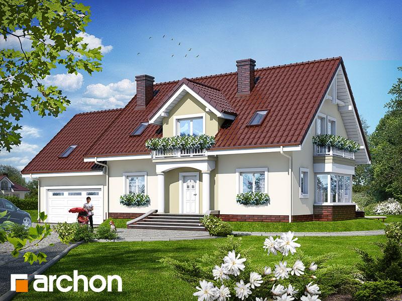 Проект будинку ARCHON+ Будинок в каллах (Г2) Вид 1