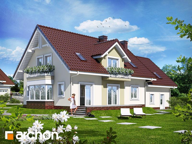 Проект будинку ARCHON+ Будинок в каллах (Г2) Вид 2