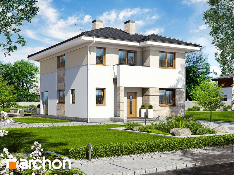 Проект будинку ARCHON+ Вілла Юлія 2 Вид 1