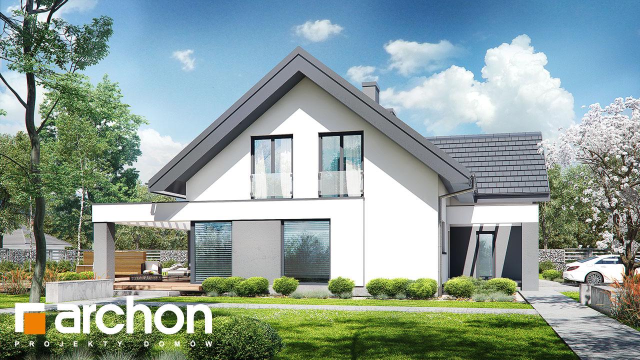 Проект будинку ARCHON+ Будинок в альбіціях (Г2) додаткова візуалізація