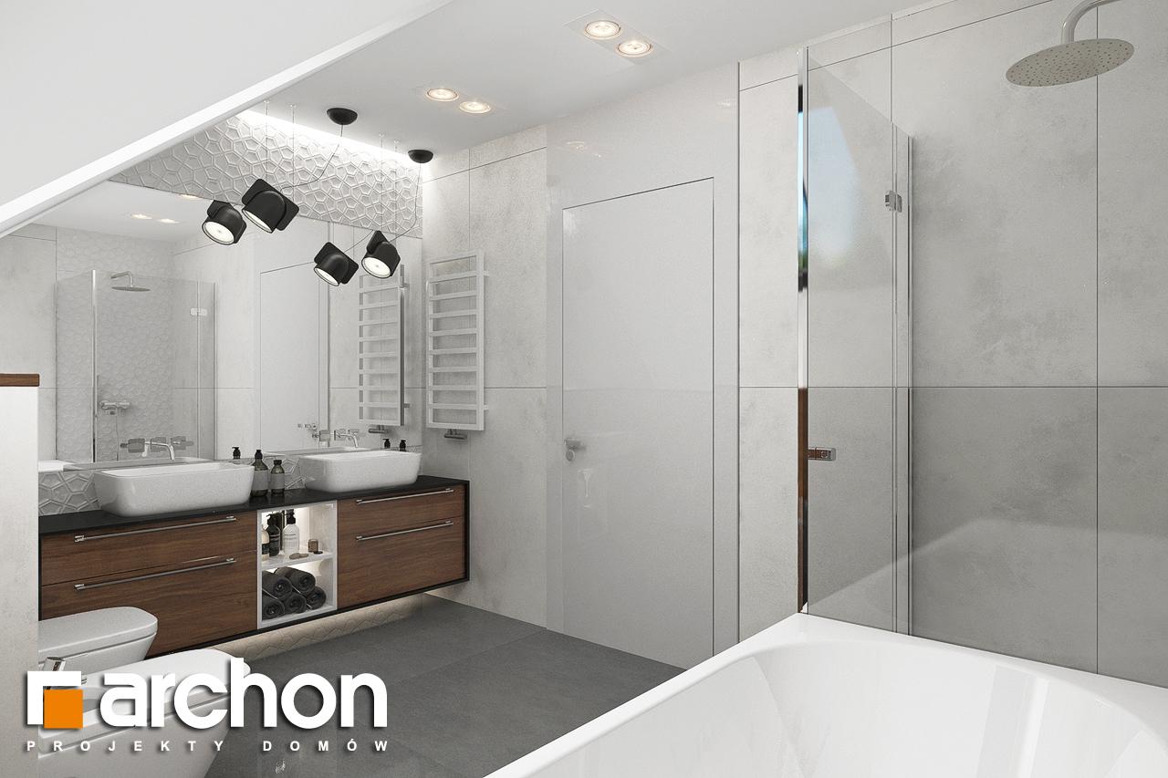 Проект будинку ARCHON+ Будинок в альбіціях (Г2) візуалізація ванни (візуалізація 3 від 1)