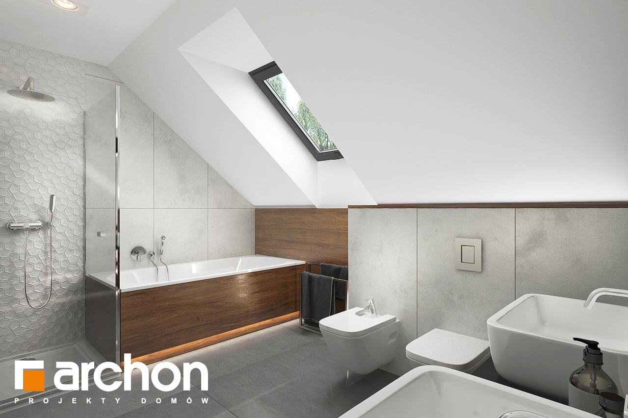Проект будинку ARCHON+ Будинок в альбіціях (Г2) візуалізація ванни (візуалізація 3 від 2)
