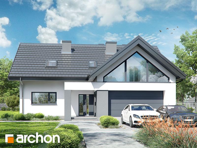 Проект будинку ARCHON+ Будинок в альбіціях (Г2) Вид 1