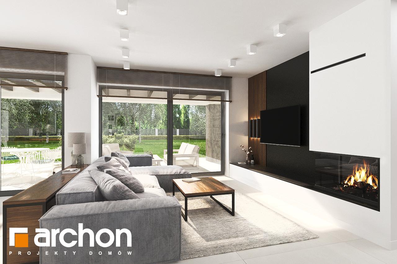 Проект будинку ARCHON+ Будинок в альбіціях (Г2) денна зона (візуалізація 1 від 1)