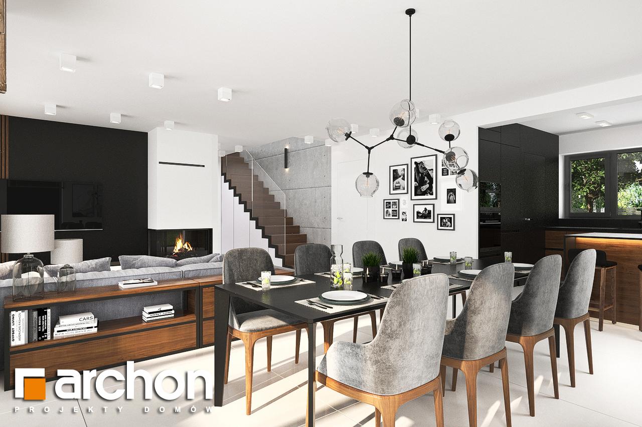Проект будинку ARCHON+ Будинок в альбіціях (Г2) денна зона (візуалізація 1 від 4)