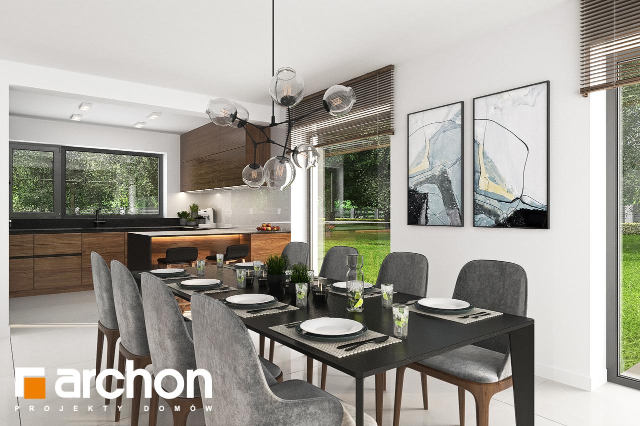 Проект будинку ARCHON+ Будинок в альбіціях (Г2) денна зона (візуалізація 1 від 5)