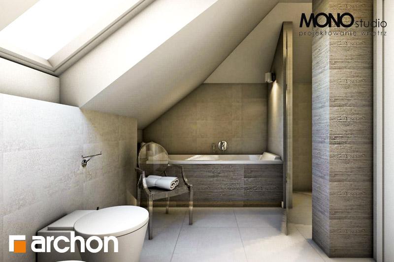 Проект будинку ARCHON+ Будинок в каллатеях 4 візуалізація ванни (візуалізація 3 від 2)
