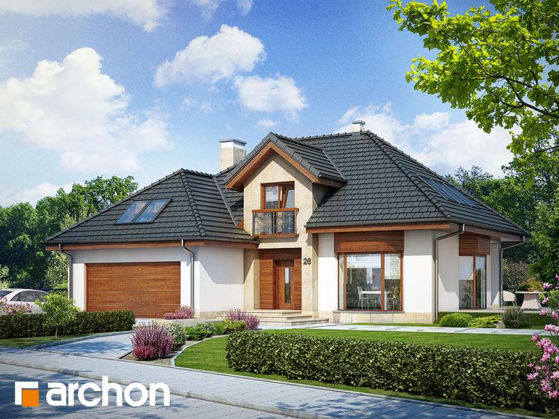 Проект будинку ARCHON+ Будинок в каллатеях 4 Вид 1