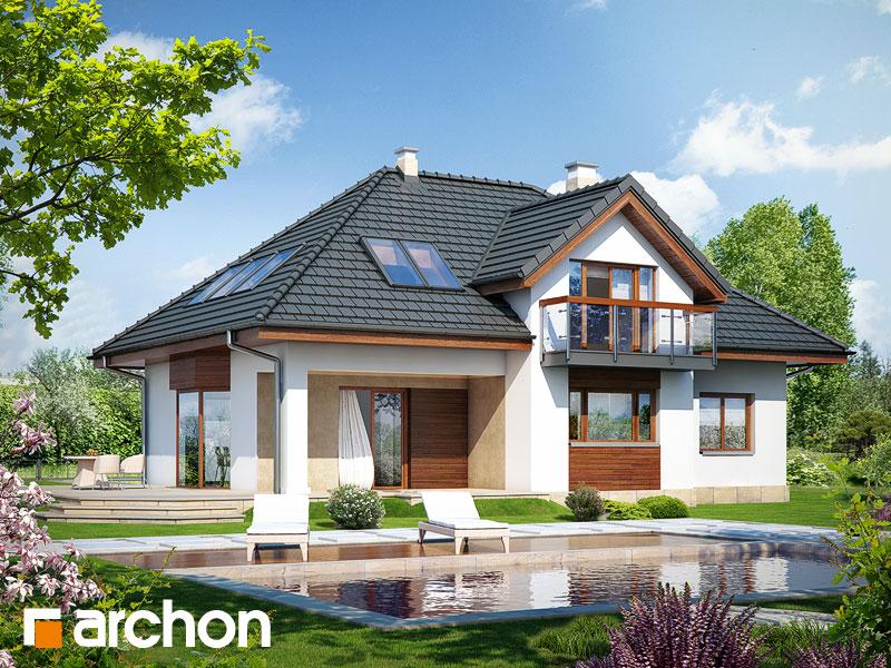 Проект будинку ARCHON+ Будинок в каллатеях 4 Вид 2