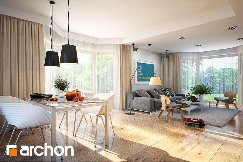 Проект будинку ARCHON+ Будинок в каллатеях 4 денна зона (візуалізація 1 від 1)
