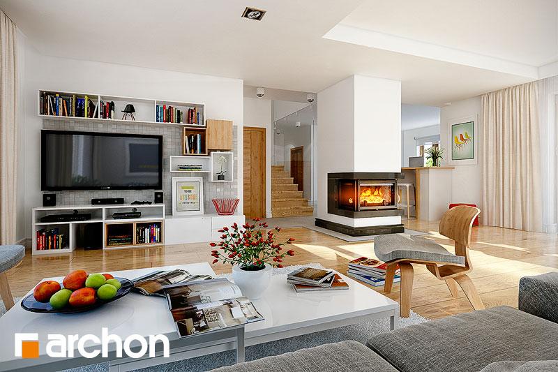 Проект будинку ARCHON+ Будинок в каллатеях 4 денна зона (візуалізація 1 від 2)