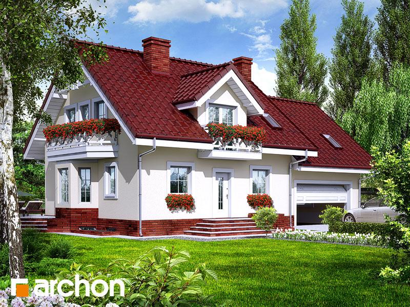 Проект будинку ARCHON+ Будинок в рододендронах 6 (Г2П) Вид 1