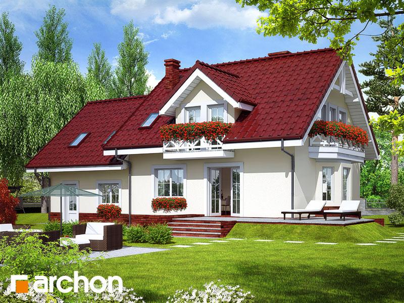 Проект будинку ARCHON+ Будинок в рододендронах 6 (Г2П) Вид 2